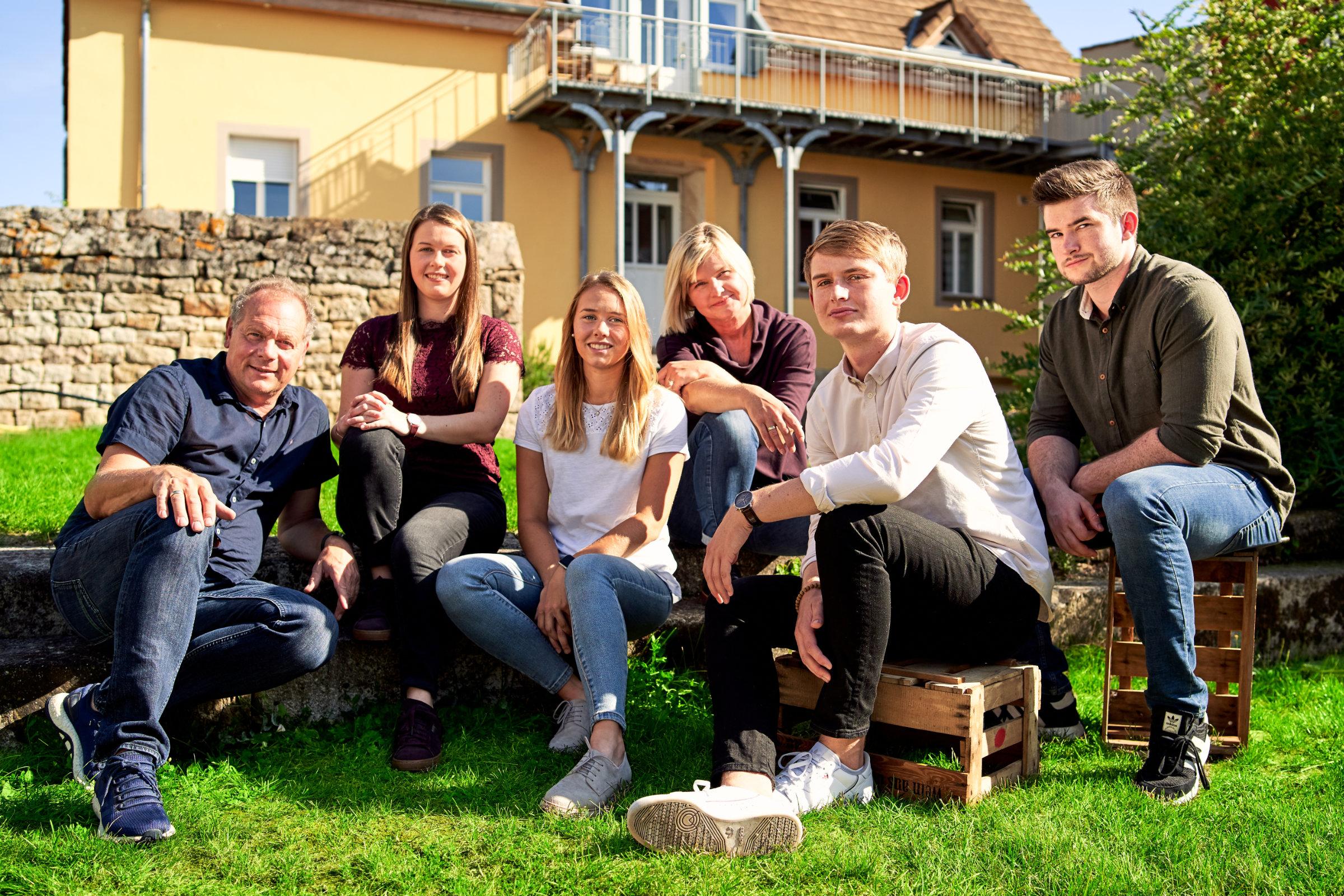 Familie Schoenfeld vom Chumbderhof